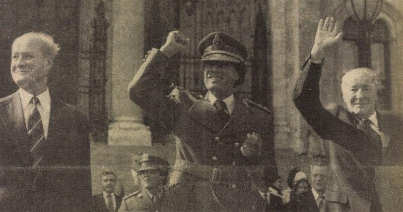 Az arab világ fenegyereke Budapesten – Kadhafi első kelet-európai útja