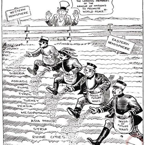 Népszövetségi mandátumok az első világháború után