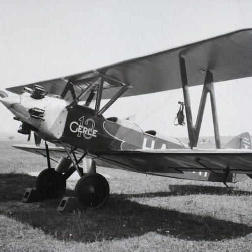 A Gerle 13, mint propaganda-repülőgép