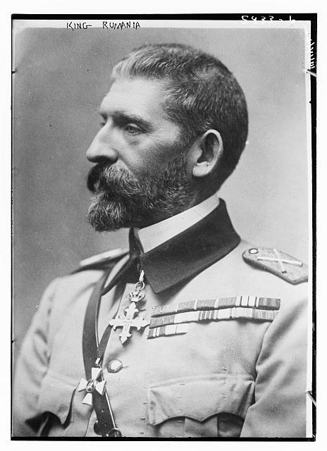 I. Ferdinánd (ur. 1914–1927) portréja. Forrás: Library of Congress