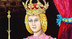 A csalfa magyar királyné