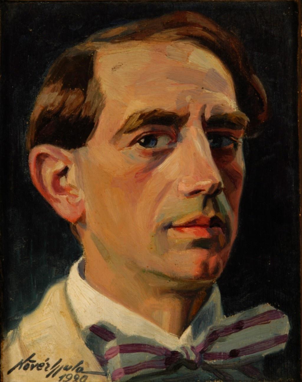A festő önarcképe, 1920. Forrás: kieselbach.hu