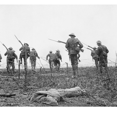 """""""A jó öreg szögesdróton lógva…"""" – egy tisztellenes brit katonanóta az első világháborúból"""