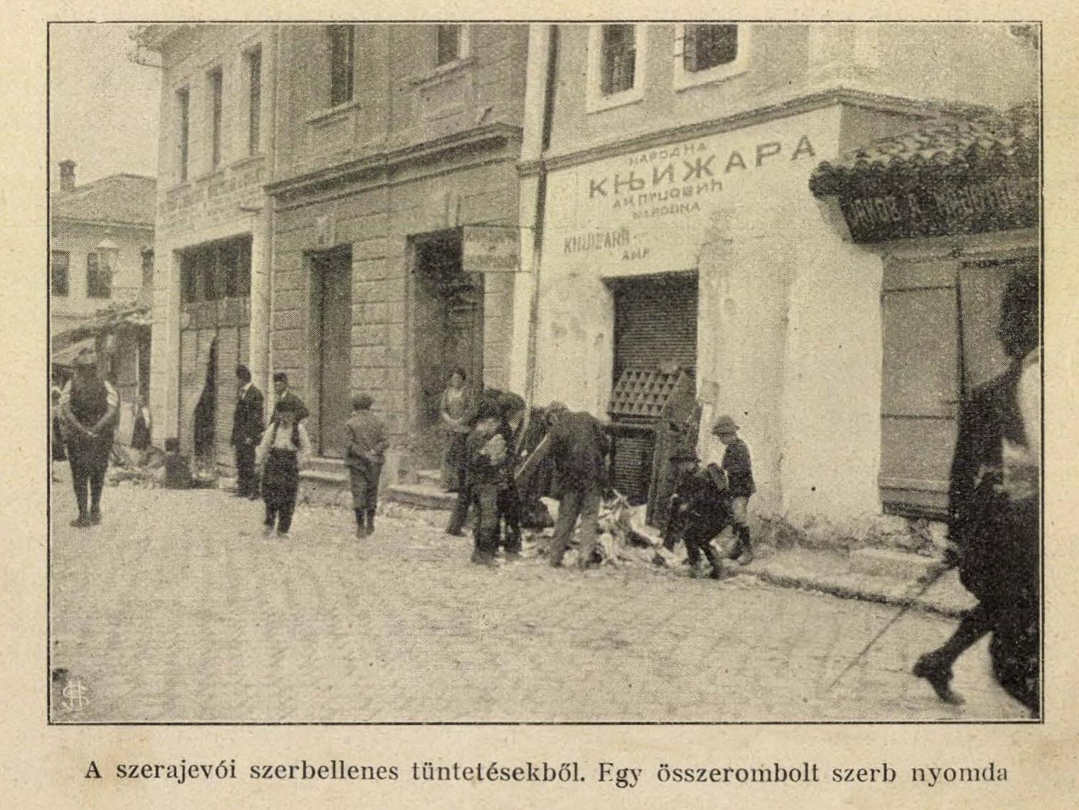 Forrás: A Világháború képes krónikája. I. kötet. Révai-Kiadás, Bp., 1914.