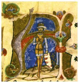 I. Károly a Képes Krónika ábrázolásában