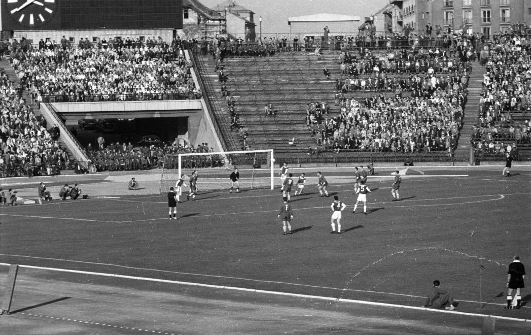Ferencváros-Újpesti Dózsa 1960 (Fortepan 51069)