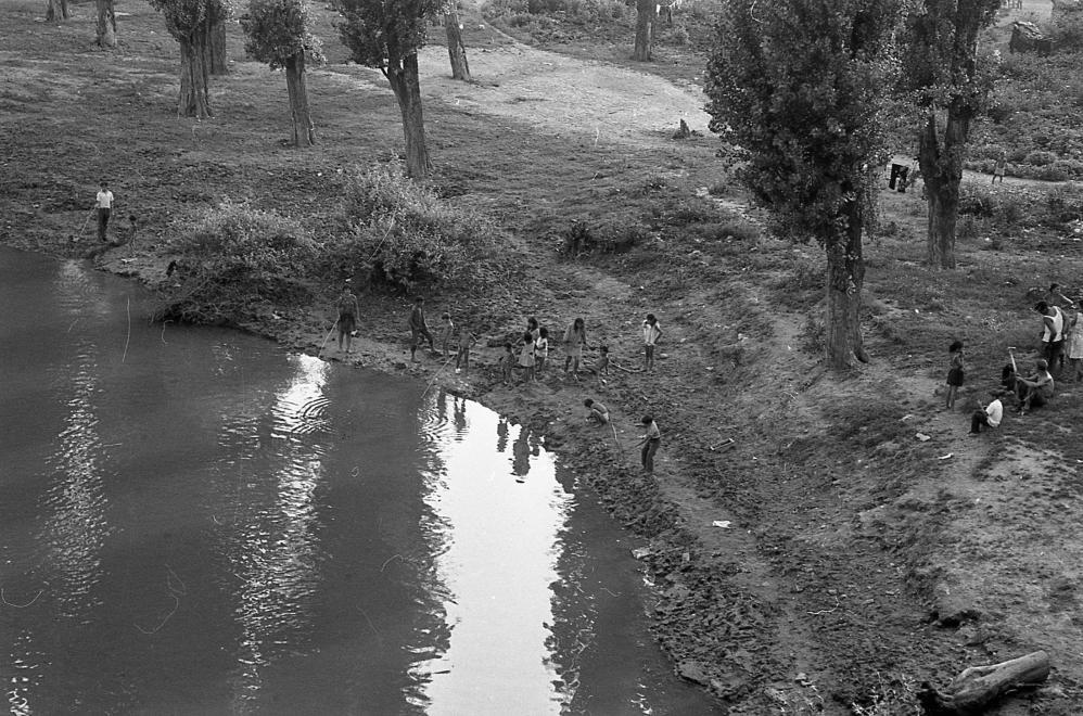 Sárpspatak, Bodrog-part, 1972. PIARISTA LEVÉLTÁR/HOLL BÉLA / FORTEPAN