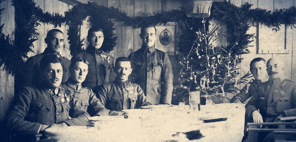 Főzés a világháborús karácsonyok alkalmával