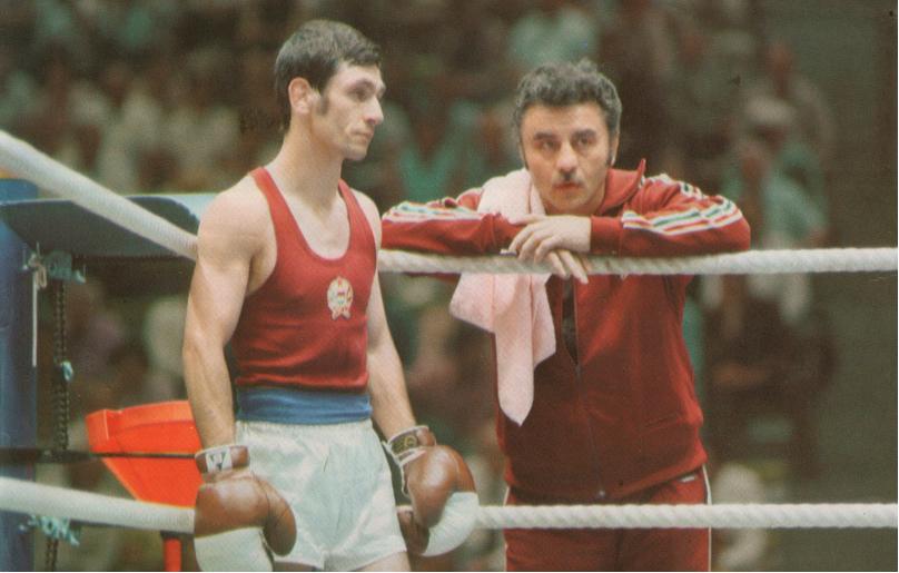 Egyik leghíresebb tanítványával, Gedó Györggyel Münchenben (1972)