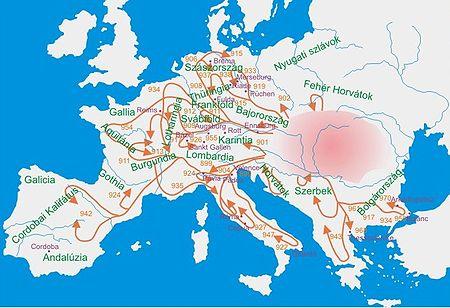 Magyar hadjáratok a IX-X. században