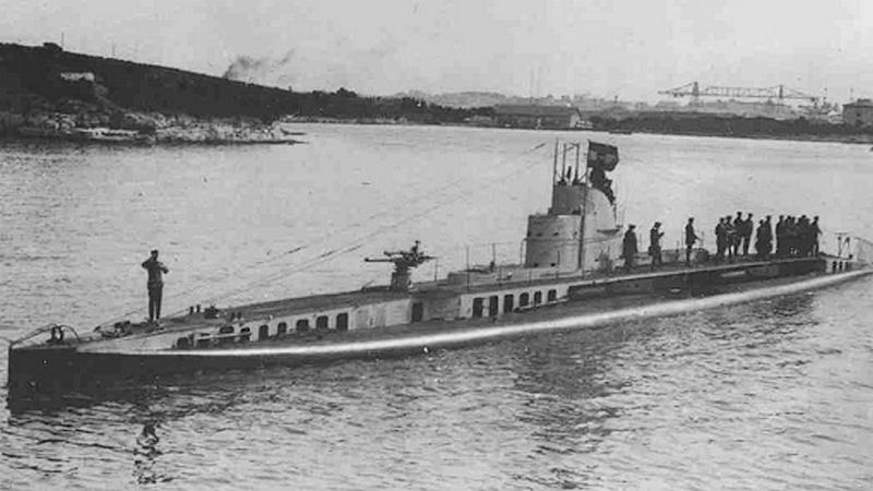 A Curie / U 14: a Monarchia francia tengeralattjárója