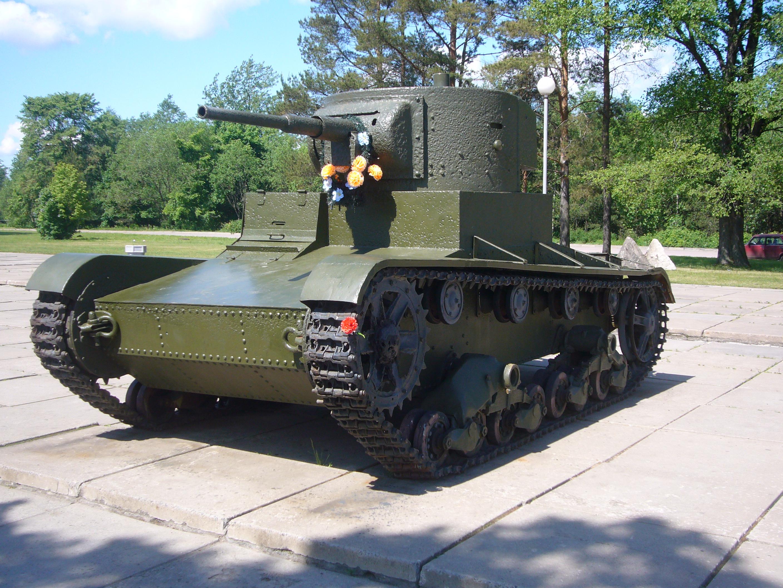 T-26-os könnyű harckocsi.
