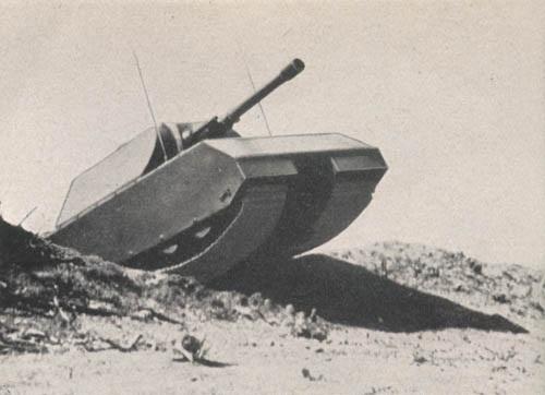 A Maus fa modellje, a képen már a 150 mm-es lövegű változat látható. (Forrás)