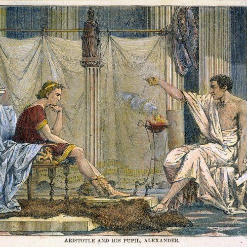 Nagy Sándor és az indiai meztelen bölcselők