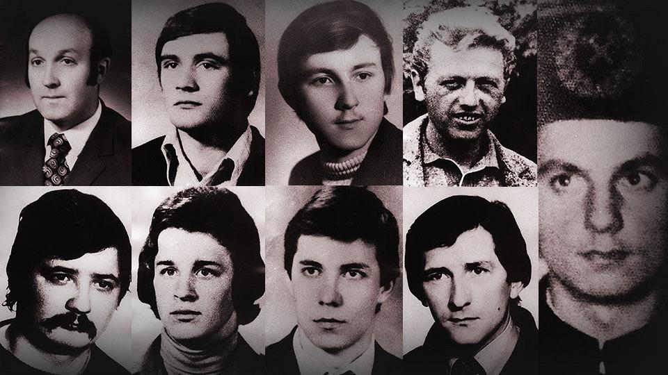 A sortűz 9 áldozata