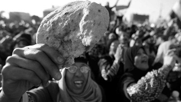 Éhezők diadala – Az egyiptomi kenyérintifáda