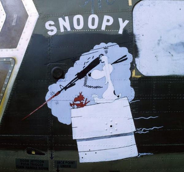Snoopy és Woodstock a vietnami háborúban: a rajzfilmfigurák azóta is népszerűek