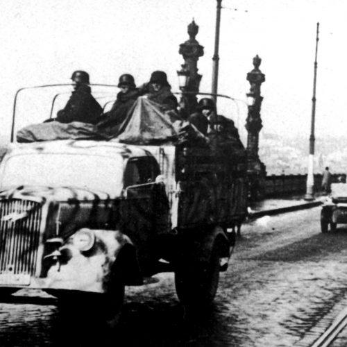 Vonalbiztosítás a hátországban – a német megszállás és a magyar katonák a fronton