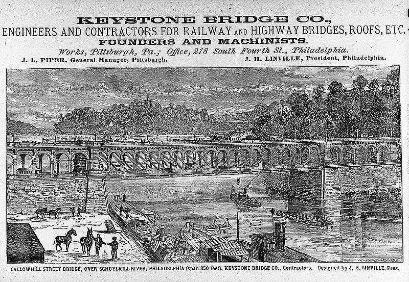 Reklám, 1885-ből