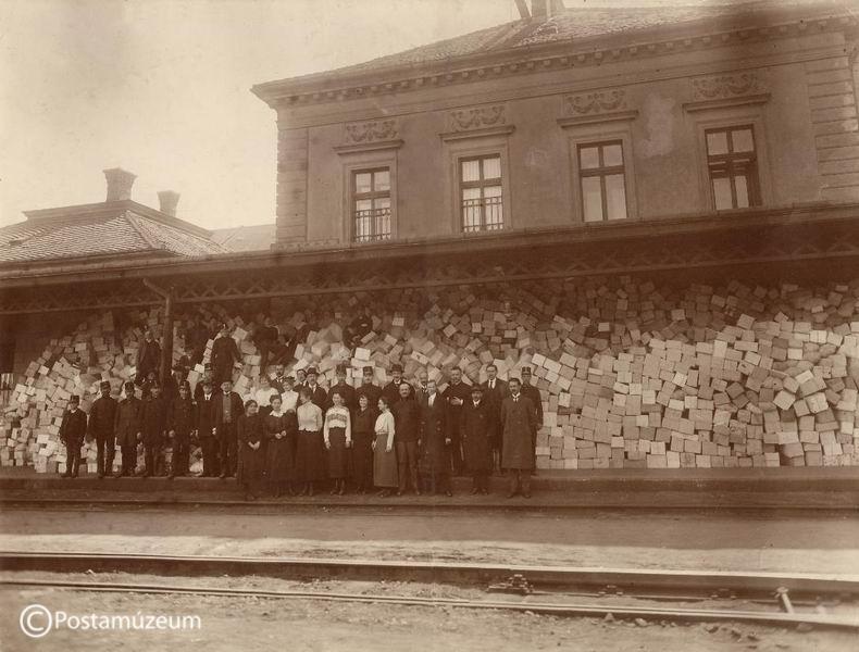 Hadifogoly csomagforgalom Brassó 2. postahivatalnál a román betörés előtt, 1916