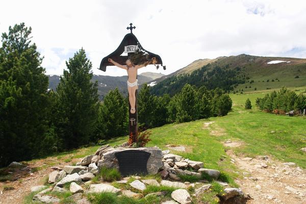 Emlékkereszt az 1480-as török betörés emlékére Ausztriában