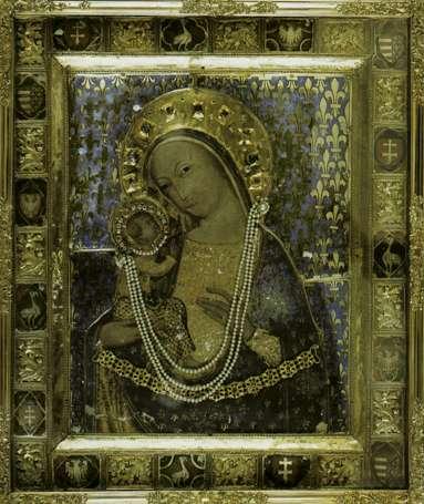 A mariazelli Madonna (1360k), amely Lajos királyt a hagyomány szerint segítette a csatában.
