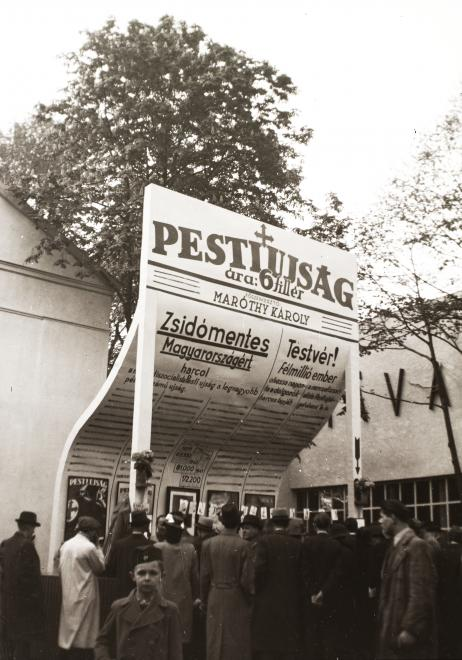 A Pesti Újság pavilonja a vásáron, 1941. FORTEPAN/FORTEPAN