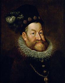 Rudolf császár Hans von Aachen festményén (Wikipedia)