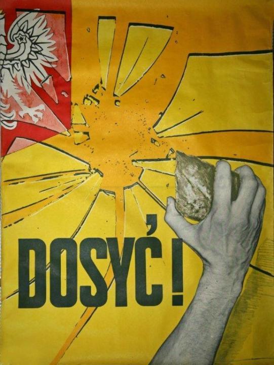 Elég! LEMP plakát 1980-1981, Forrás: ECS/T/ASP/001