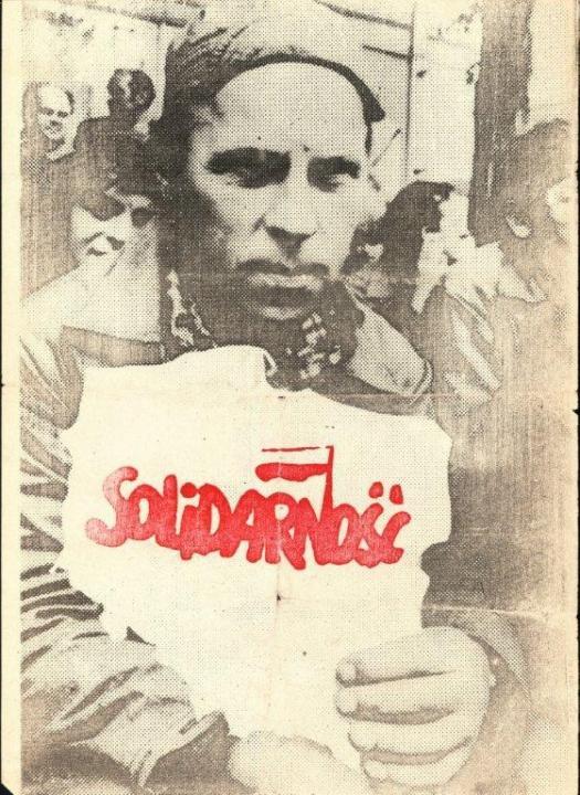zolidaritás Ellenzéki plakát 1980, Forrás: ECS/T/ASP/106, M. Drzewuski