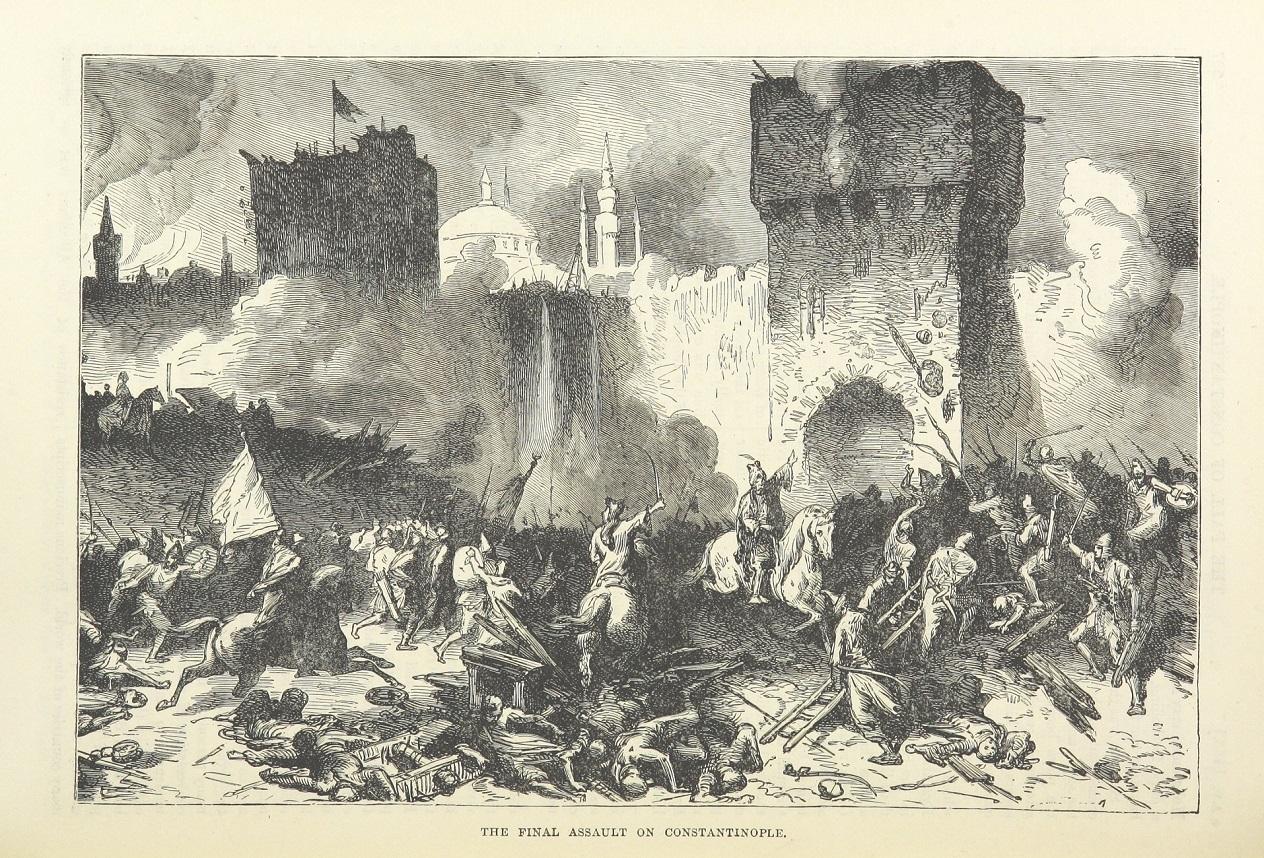 Konstantinápoly eleste, Cassell's Illustrated Universal History, 3. kötet, 1896.