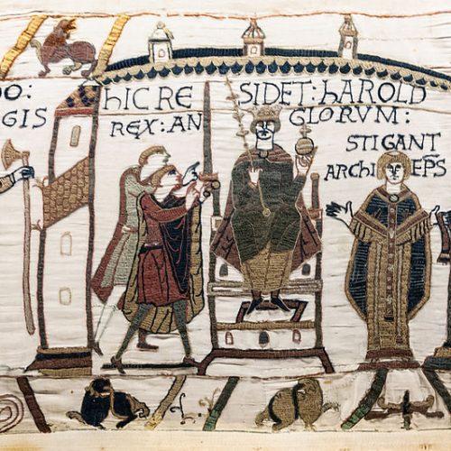A bayeux-i kárpit történelmi fordulatai