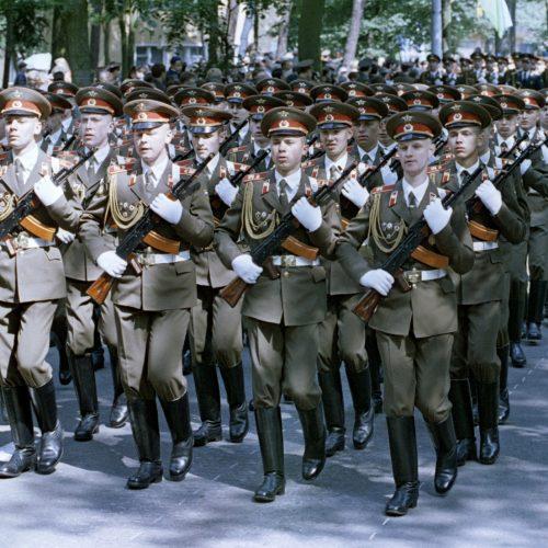 A német hitelezés a szovjet csapatkivonás során