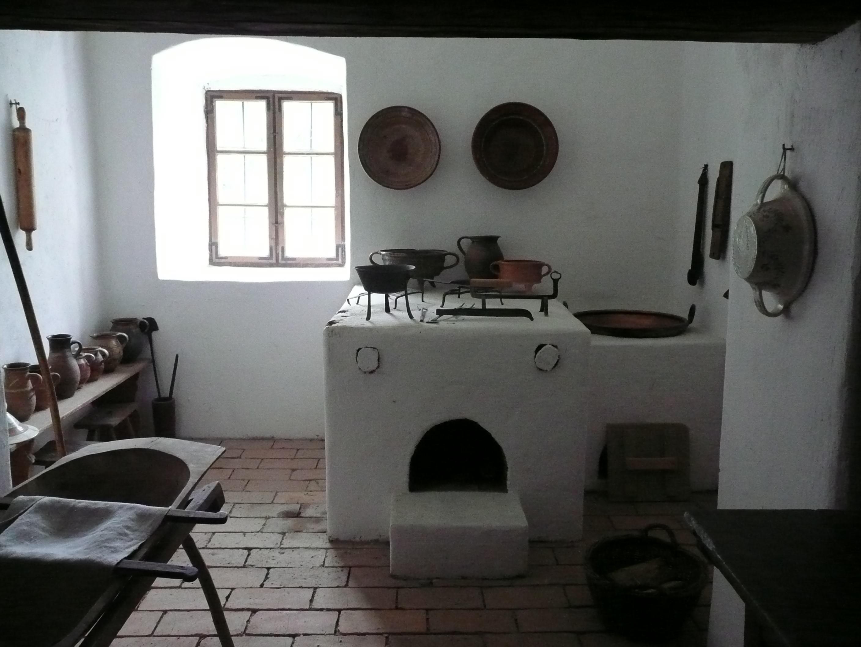 Paraszti konyha. Szabadtéri Néprajzi Múzeum, Szentendre. (saját felvétel)