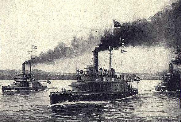 """""""Sétahajózás"""" flottillás módra, avagy őrnaszáddal a Dnyeperen"""