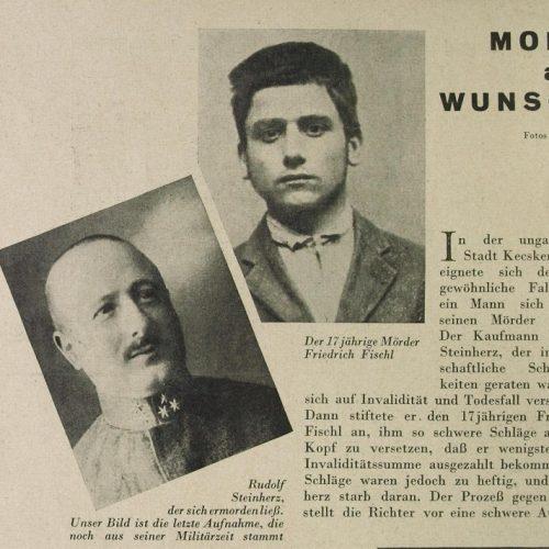 Murder Me! – A Steinherz Rudolf gyilkosság