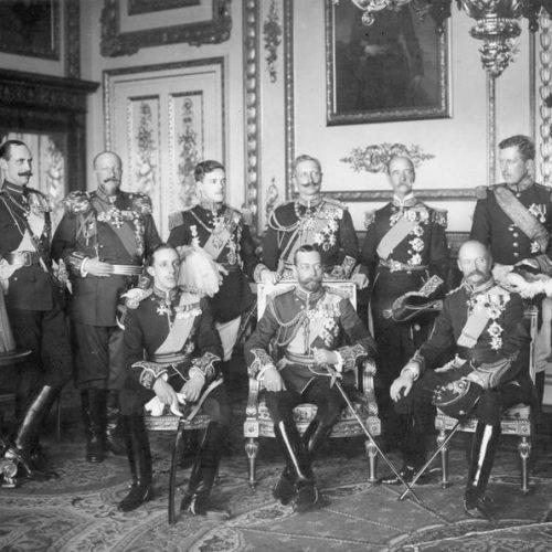 Uralkodói terepszemle – 11 harctéri fotó az első világháború koronás főiről
