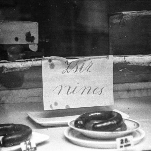 Hadi-linzer és karfiolpörkölt, avagy nagyanyáink háborús konyhája