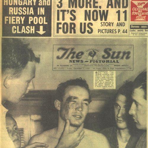 """""""Szabadságharc"""" a medencében- A Melbourne-i magyar-szovjet vízilabda-mérkőzés"""