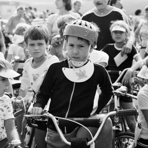 A BMX biciklik az 1980-as években