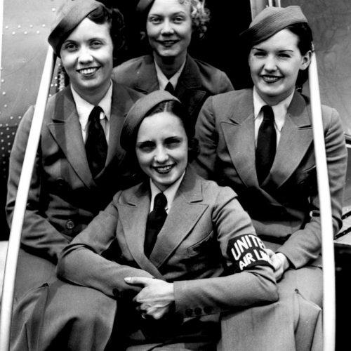 A levegő fixfizetéses tündérei – stewardessek a harmincas években