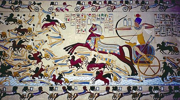 Hogyan kerültek a lovak az ókori Egyiptomba?