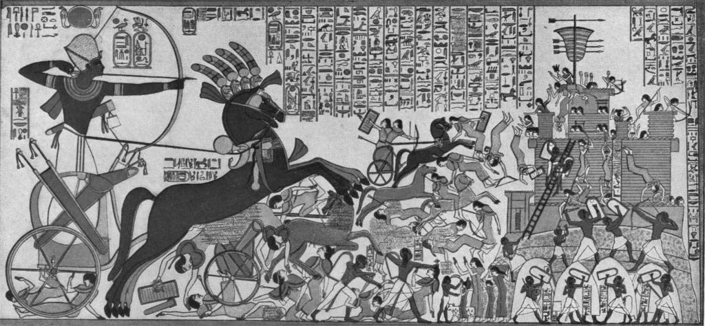 A kádesi csata, a harci kocsik legnagyobb összecsapása