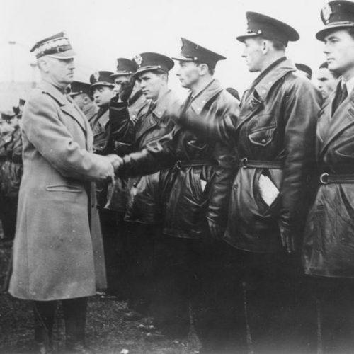 Egy lengyel katona Franciaországban