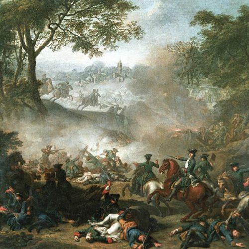 A svéd király táborában