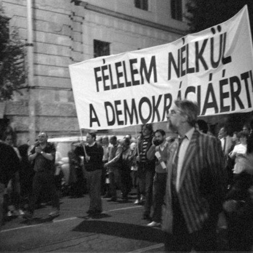 Befejezés és újrakezdés a politika peremvidékén 1989-ben (II. rész)