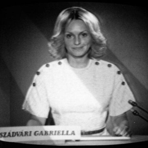 Az öngyilkos tévébemondónő – Szádvári Gabriella tragédiája