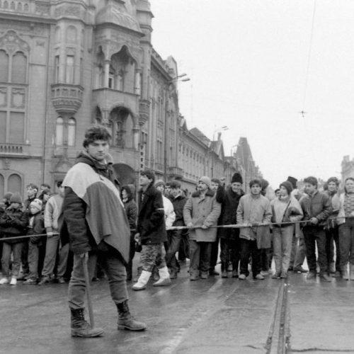 A romániai forradalom, 1989 – Képválogatás