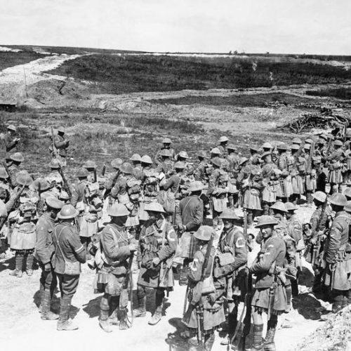 """""""… elhatároztam, hogy jelentkezek katonának"""" – egy angol önkéntes a világháborúban"""