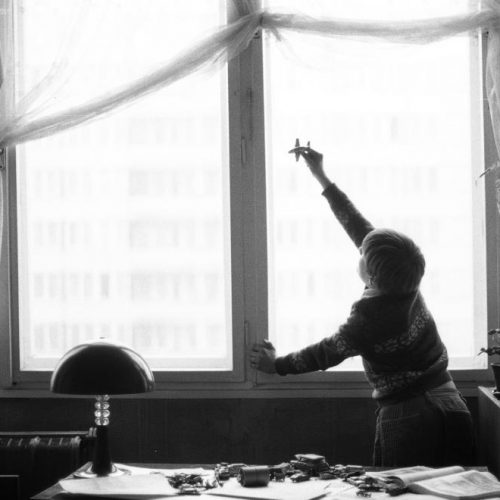 Gyermeksarok a szocialista időszak lakberendezésében